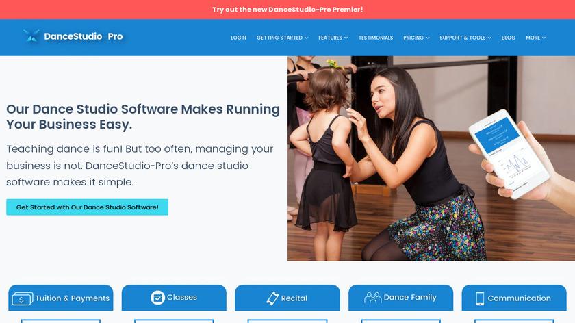 DanceStudio-Pro Landing Page