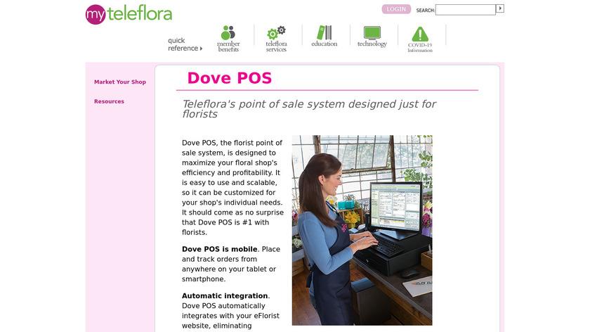 Dove POS Landing Page