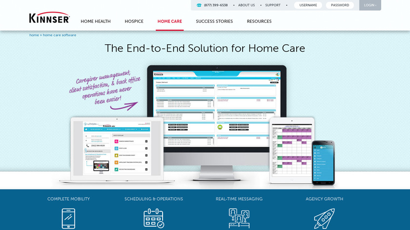 wellsky.com Kinnser ADL Landing Page