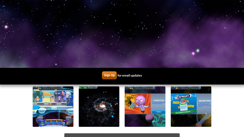 Space food Truck Landing Page