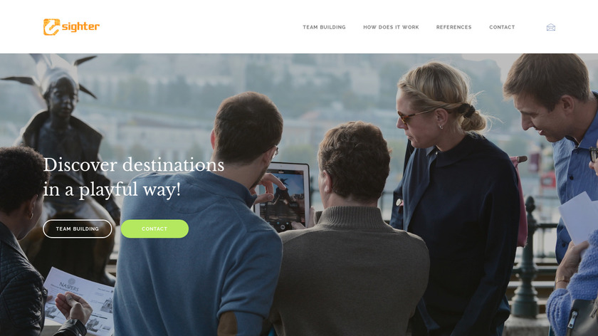 Sighter Landing Page