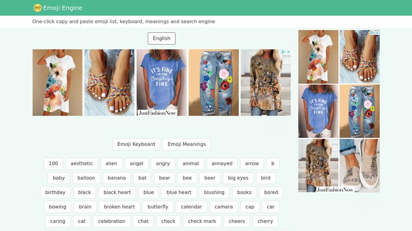 Emoji Engine Landing Page