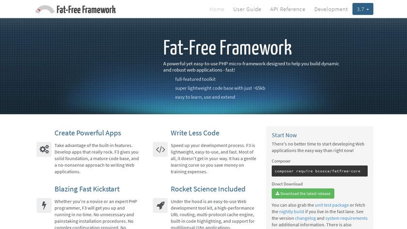 Fat-Free Landing Page