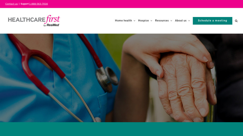 firstHOMECARE Landing Page