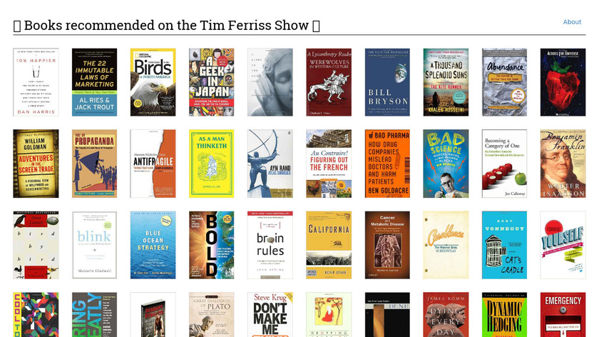 Four Hour Book Club Landing Page