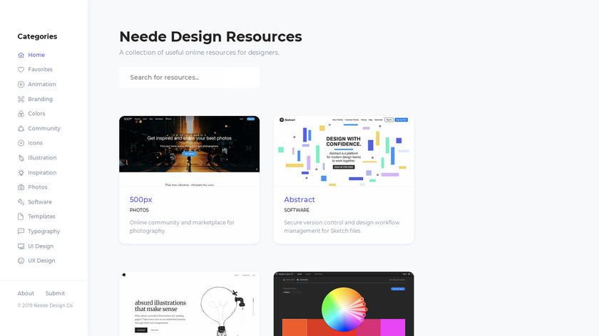 Neede Landing Page