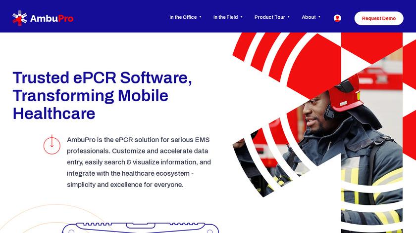 AmbuPro EMS Landing Page