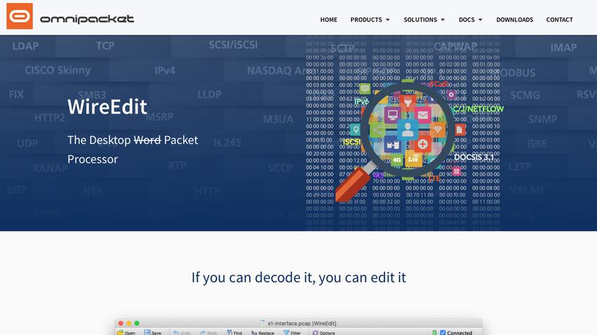 WireEdit Landing Page
