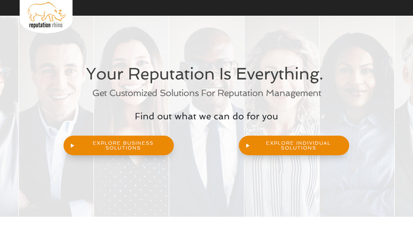 Reputation Rhino Landing Page