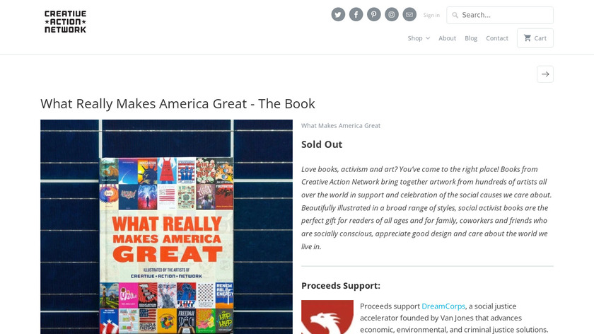 What Really Makes America Great Landing Page