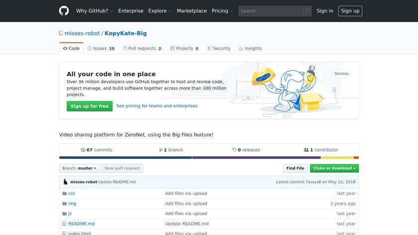 KopyKate Landing Page