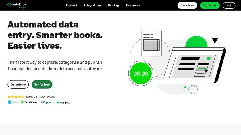 AutoEntry Landing Page