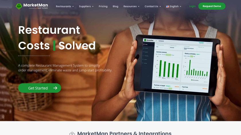 MarketMan Landing Page