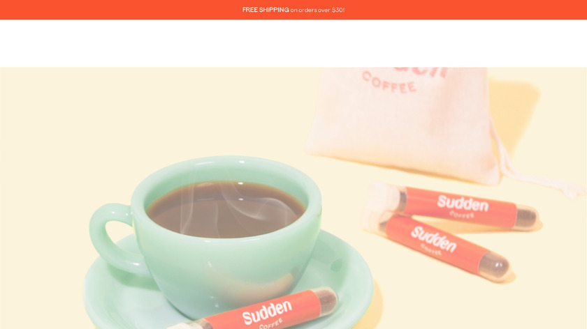 Sudden Coffee Landing Page