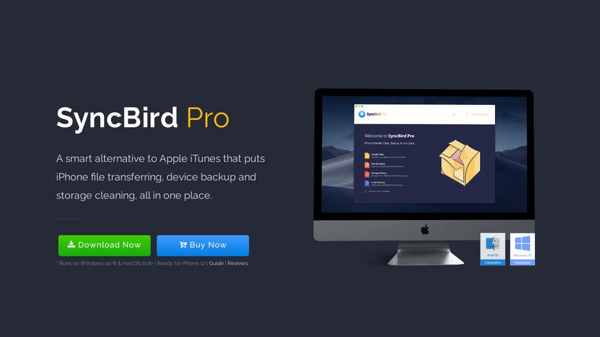 SyncBird Landing Page