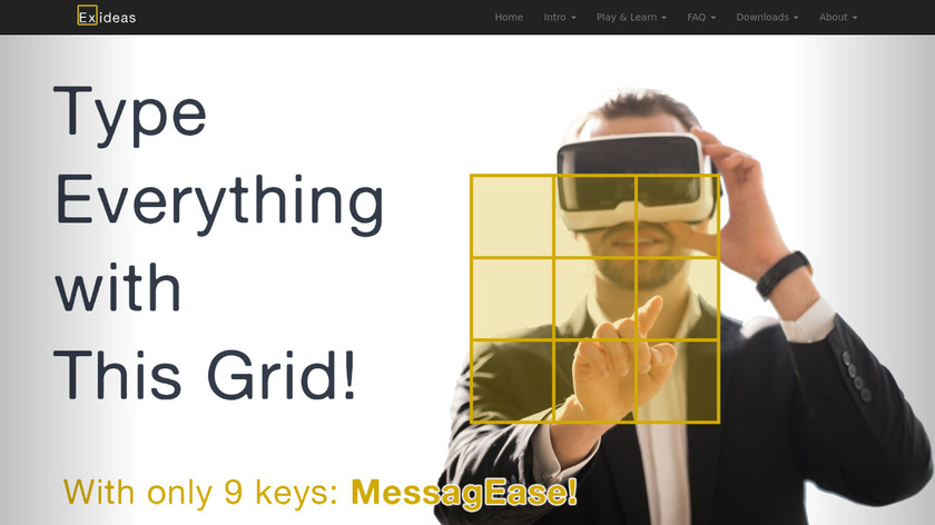 MessagEase Landing Page