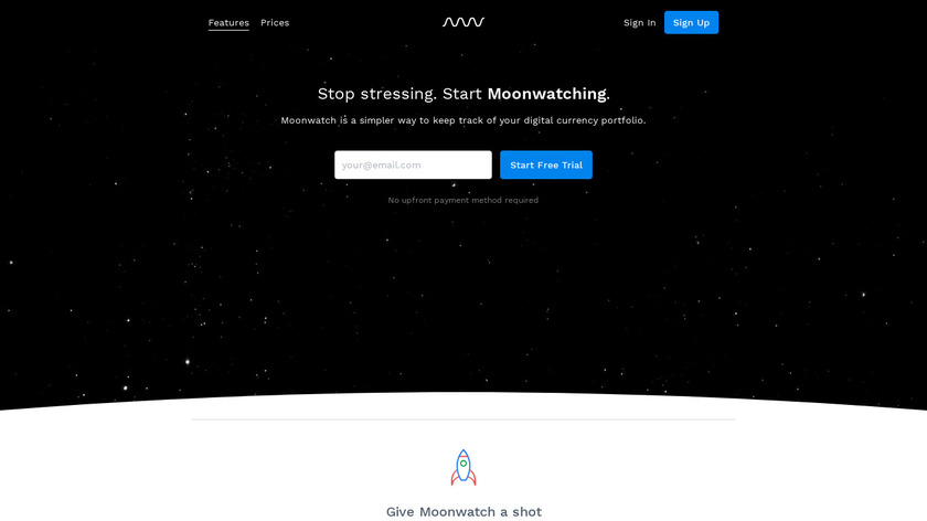 Moonwatch Landing Page