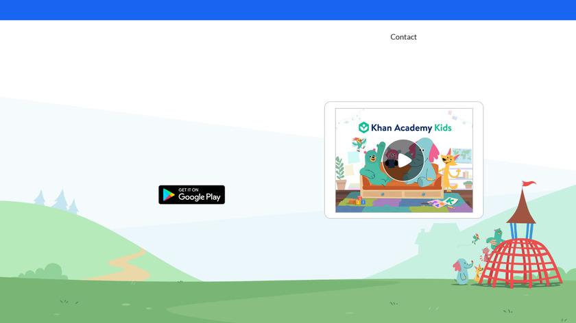 Khan Academy Kids Landing Page
