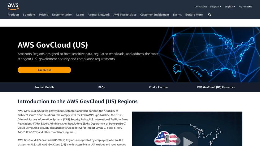 AWS GovCloud Landing Page