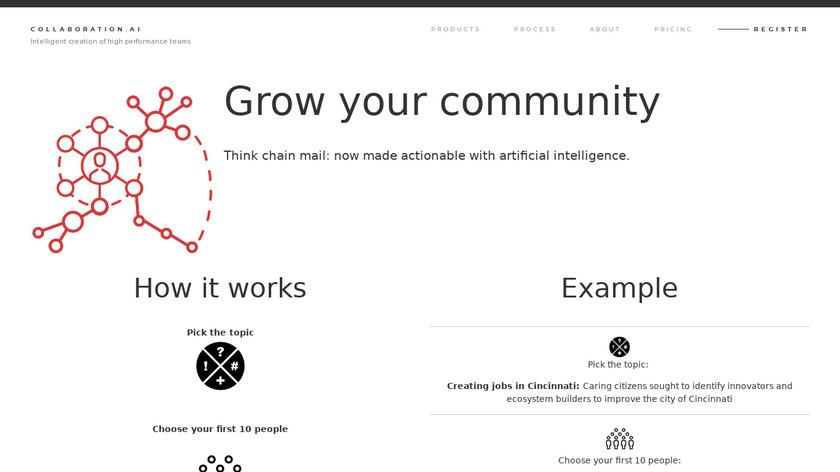 Community Scaling Landing Page