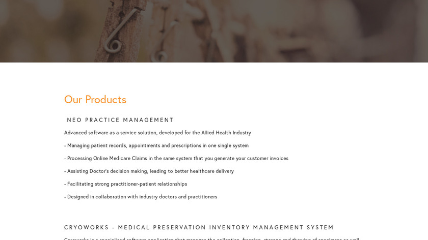 Lab Management System Landing Page