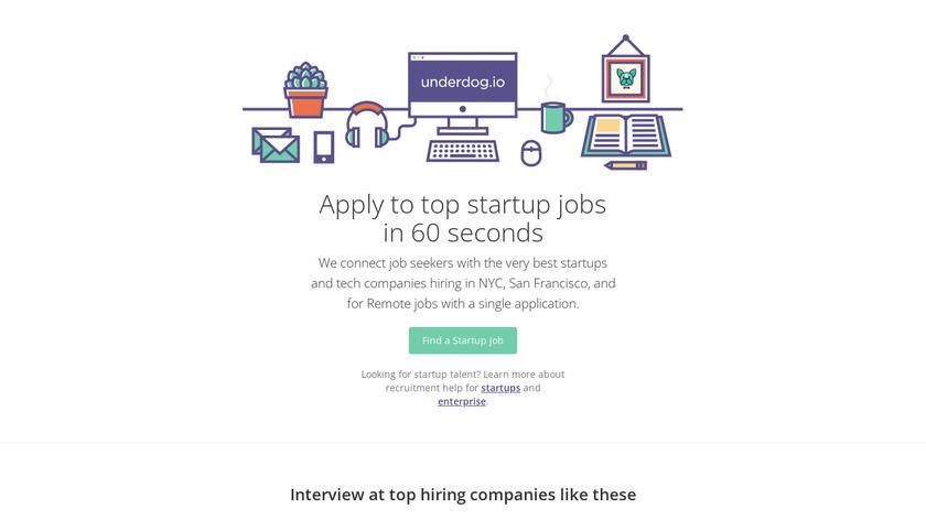 Underdog.io Landing Page
