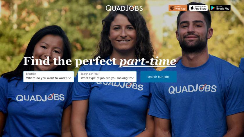 QuadJobs Landing Page