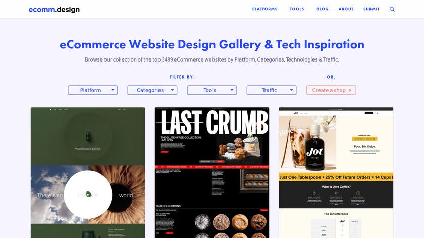 ecomm.design Landing Page