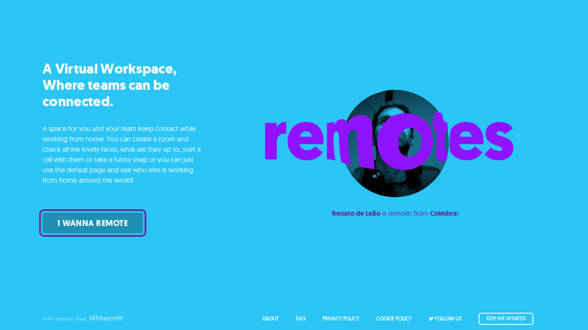 Remotes.in Landing Page