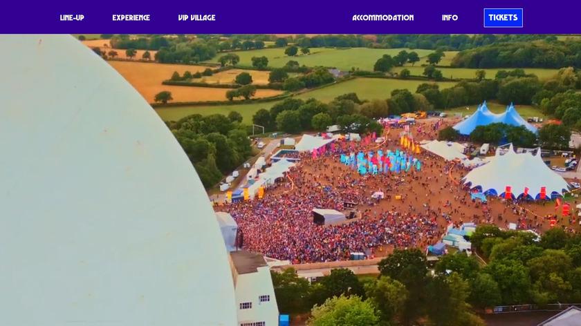 bluedot Landing Page