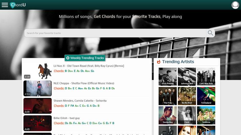 ChordU Landing Page