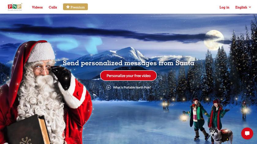 Hello Santa Landing Page