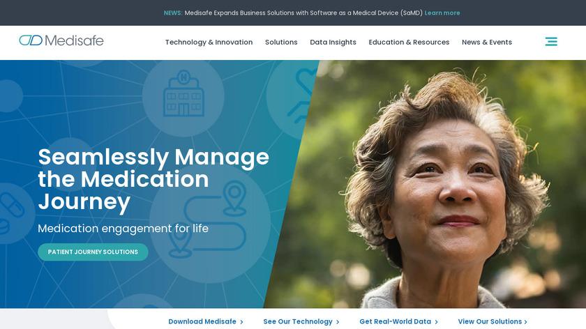 MediSafe Landing Page