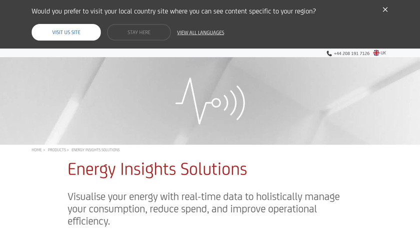 PowerRadar Landing Page