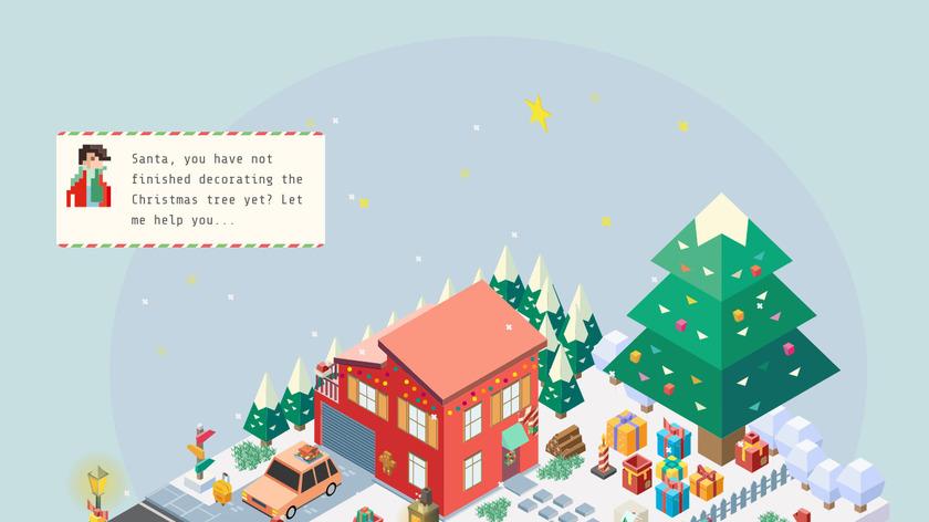 Help Santa Landing Page
