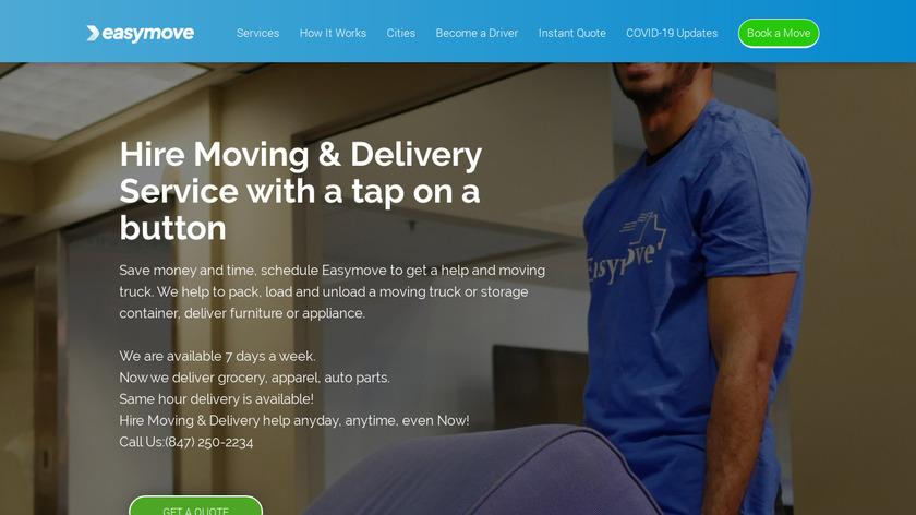 Easymove Landing Page