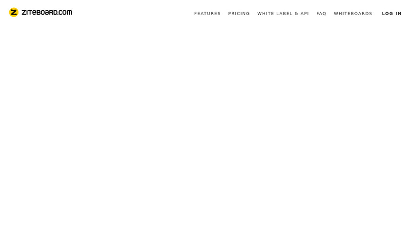 Ziteboard Landing Page