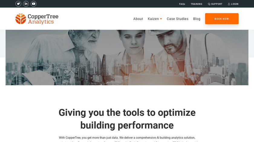 Energy Management Landing Page