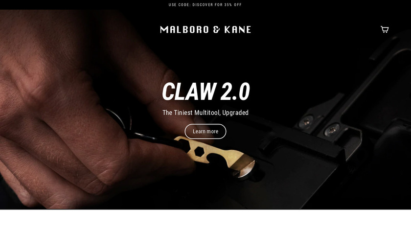 Claw II Landing Page