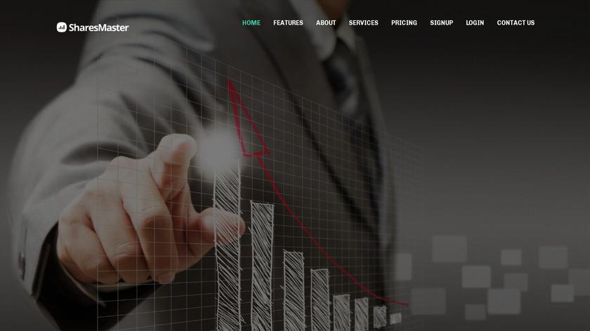 SharesMaster Landing Page