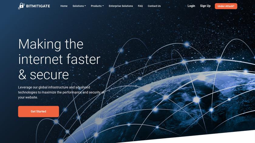 BitMitigate Landing Page