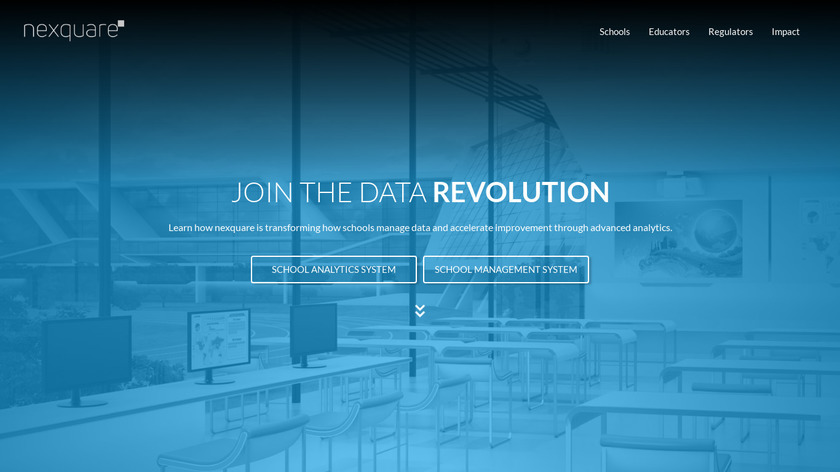 Nexquare Schools Landing Page