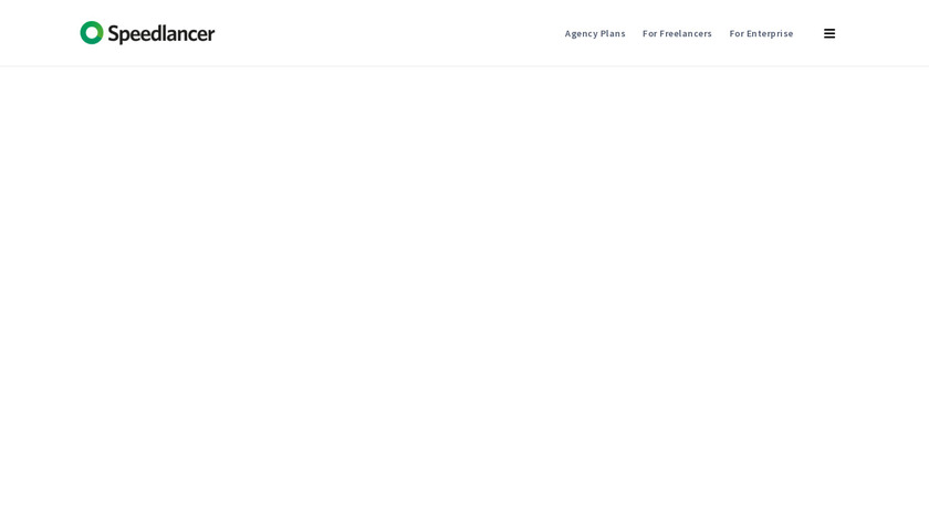 Speedlancer Landing Page