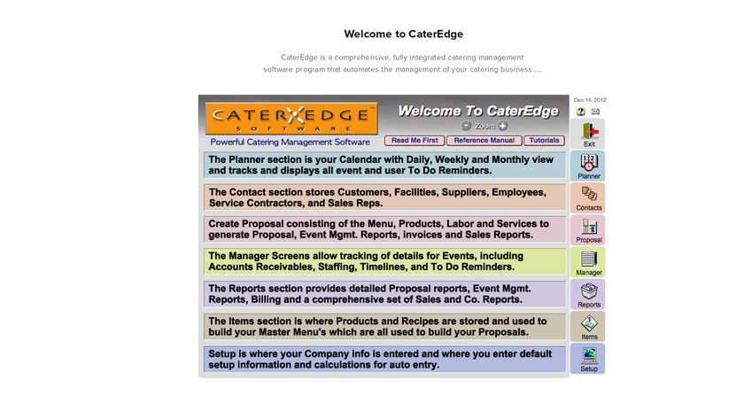CaterEdge Landing Page