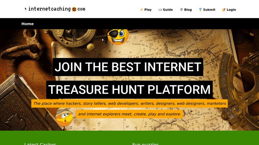 InternetCaching Landing Page