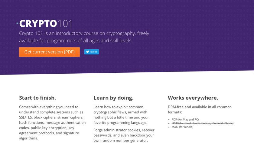 Crypto 101 Landing Page