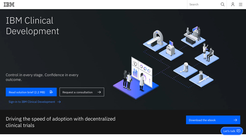 IBM Clinical Development Landing Page