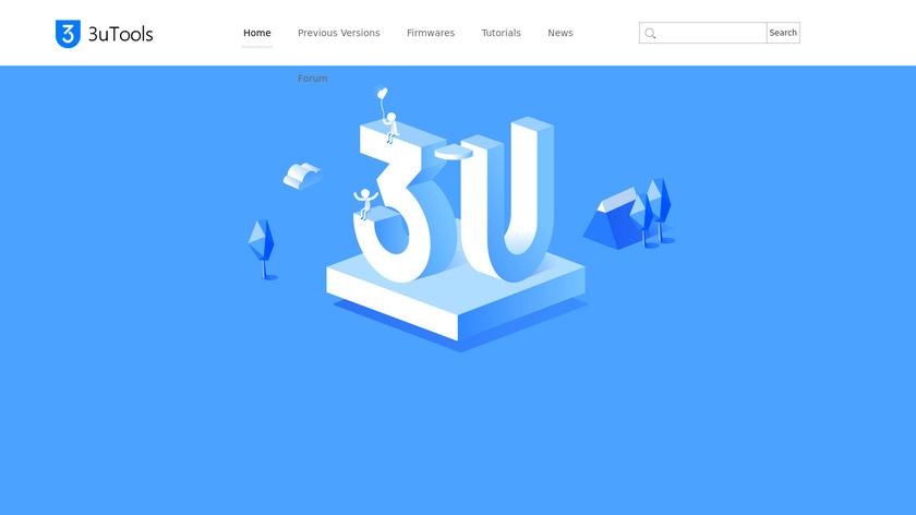 3uTools Landing Page