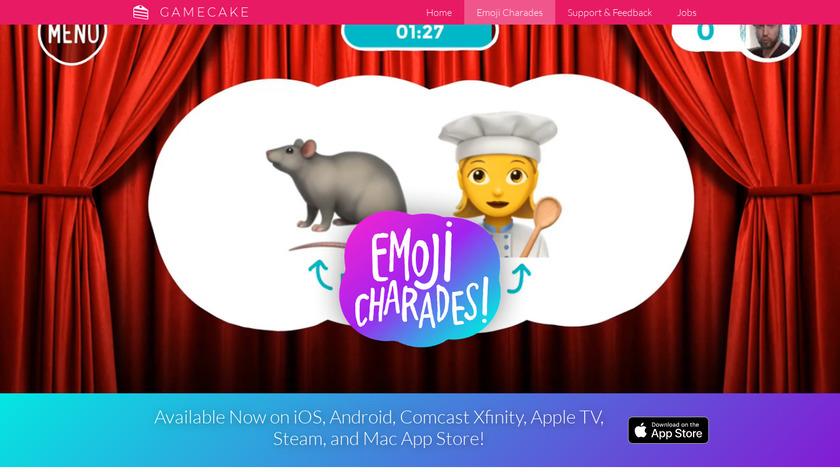 Emoji Charades Landing Page