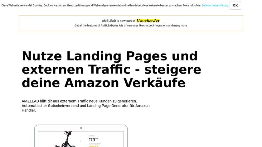 AMZLEAD Landing Page
